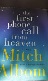 Mitch Albom - the first phone call from heaven