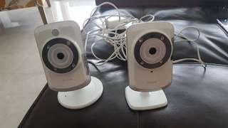 Dlink IP cameras - like new (2)