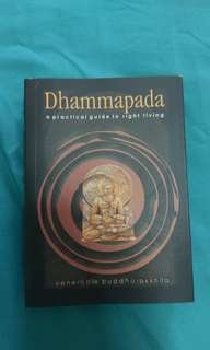 Dhammapada - a practical guide to right living (Pocket Edition)