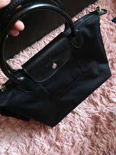 authentic small longchamp