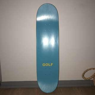 Golf wang skateboard deck
