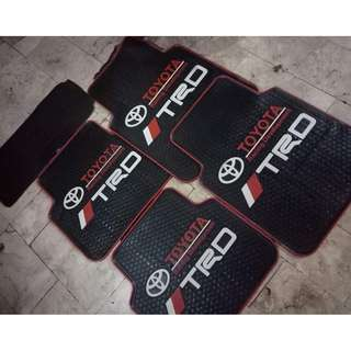 TRD Rubber Matting