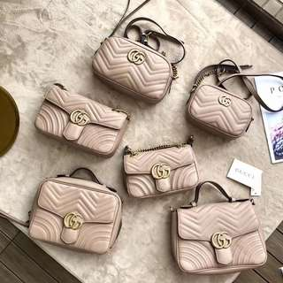 GUCCI GG Marmont Matelasse Bags High end Quality