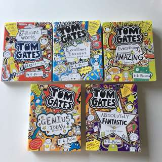 Tom Gates Books 1-5