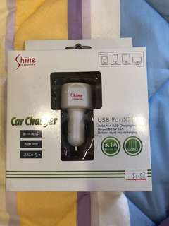 🚚 Car charger for 2USB