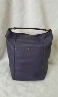 Auth Rabeanco Bucket Bag coach Purple