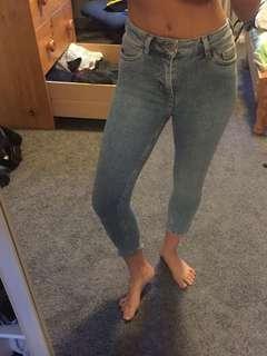 Yazmin petite jeans - raw hem