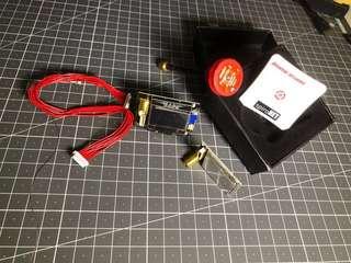 Clear old stock-x4r/pandarcvtx600mw/fatshark module rx5808pro/pagoda antenna and path antenna