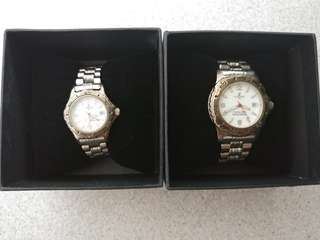 25 HOURS NKF Charity 2000 special edition watch set