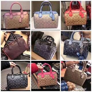 Original coach women Bennett bag handbag crossbody bagv