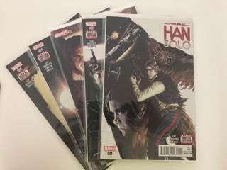 Star Wars, Han Solo #1-5, Marvel Comics