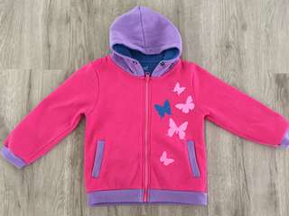 Butterfly Hooded Sweater