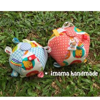iMama handmade- Sew a babyball workshop
