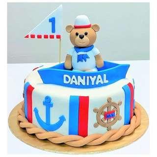 Sailor Teddy Bear Cake