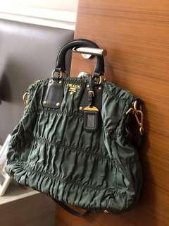 Prada Nappa Gaufre Shopping Bag (pre-owned)