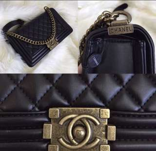 Tas Chanel Boy Lambskin
