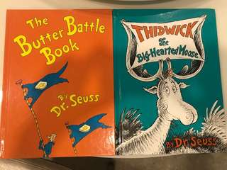 Dr. Seuss - The Butter Battle & Thidwick the Big Hearted Moose