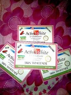 Active White Whitening Glutathione