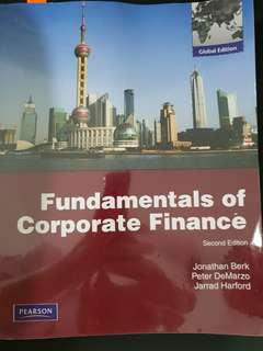 Book - Corporate Finance