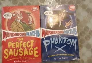 Murderous Math, 2 books