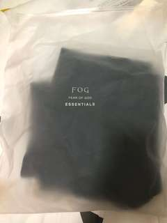 FOG FEAROFGOD ESSENTIALS DRAWING SHORT
