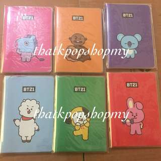 BT21 MONOPOLY POCKET NOTE