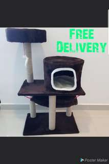 Cat Condo Play House- Special deal @40+ Free Delivery