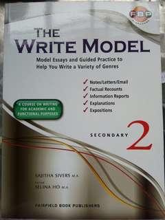 The Write Model Secondary 2