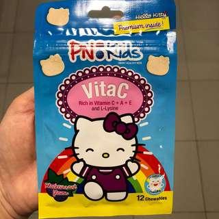 (12 chewables) BN PN Kids VitaC (blackcurrant flavor)
