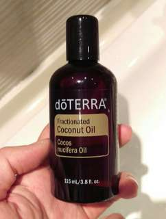 DOTERRA Fractionated Coconut Oil (Therapeutic Grade) - 115ml