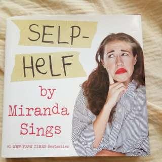 Miranda Sings Selp Helf book