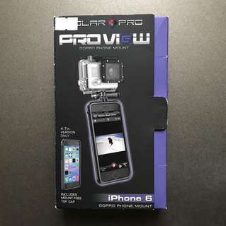 Proview iPhone6 手機殼 + GoPro mount