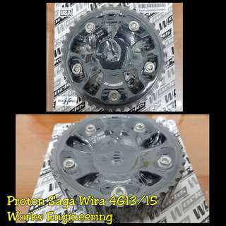 Wira 1.3 1.5 4g13 4g15 Works Engineering Cam Gear Campully