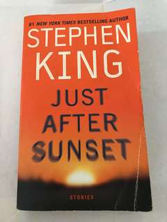 Stephen King-Just After Sunset