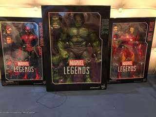 Marvel Legends 3 figures