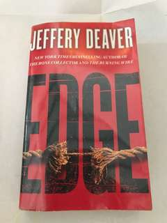 New York Times Bestselling Author Jeffrey Deaver - EDGE