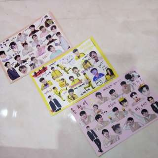 WANNA ONE ONG SEONGWOO STICKER
