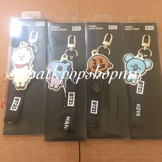 BT21 MONOPOLY TRAVEL WRIST STRAP