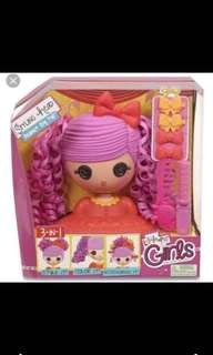 Bn 2 pcs. Lalaloopsy styling head (damaged box)