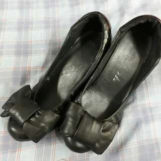 Prada wedge shoes