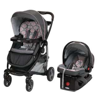 Graco Modes Click Connect Travels System Stroller