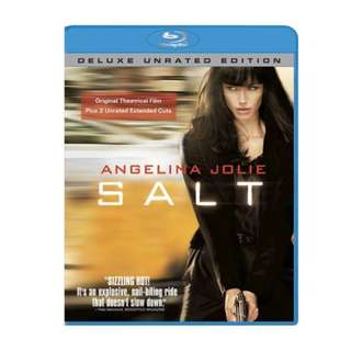Angelina Jolie Salt Deluxe Unrated Edition Blu-ray