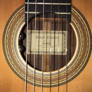 Classical guitar Grand Concert GC-31 1983 with original hardcase.