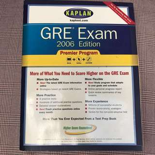 GRE Exam Guide Book with CD