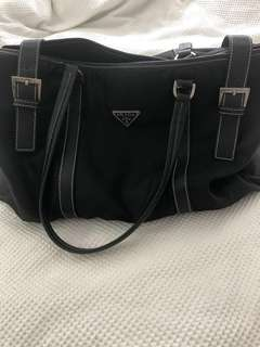 Vintage black prada bag