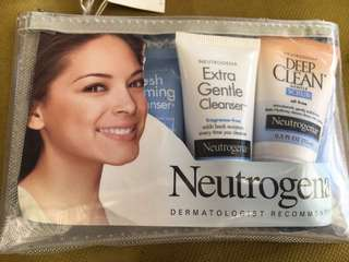 Neutrogena traveling facial kit