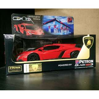 Brand new Petron Cars : Red Lamborghini Veneno