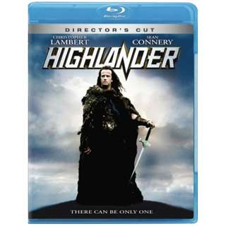 Highlander Director's Cut Blu-ray (There can only be one)