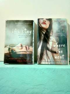 Boxed Set - If I Stay and Where She Went (Gayle Forman)