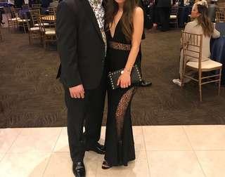 Black prom/evening dress